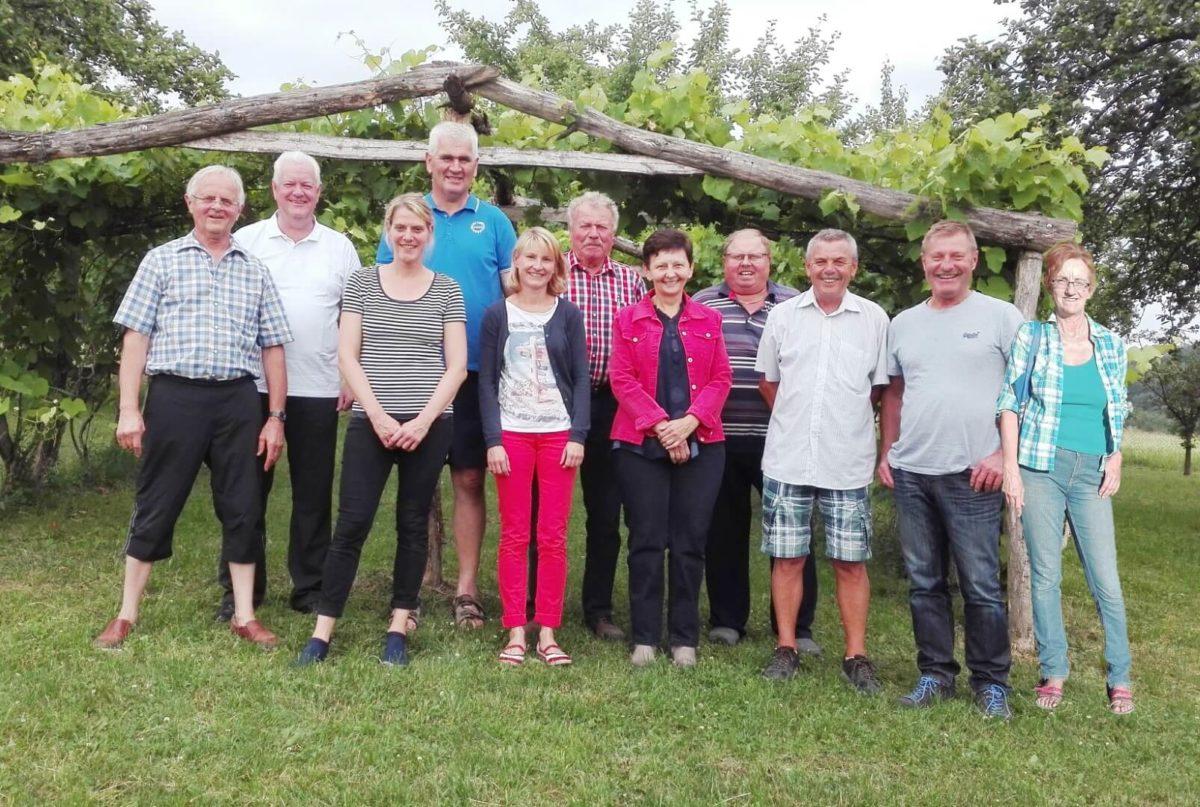 OGV-Bindlach Vorstandschaft